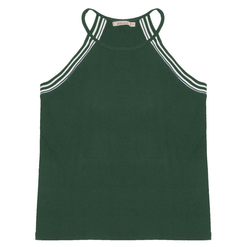 Blusa-Feminina-De-Alcas--Endless-Verde