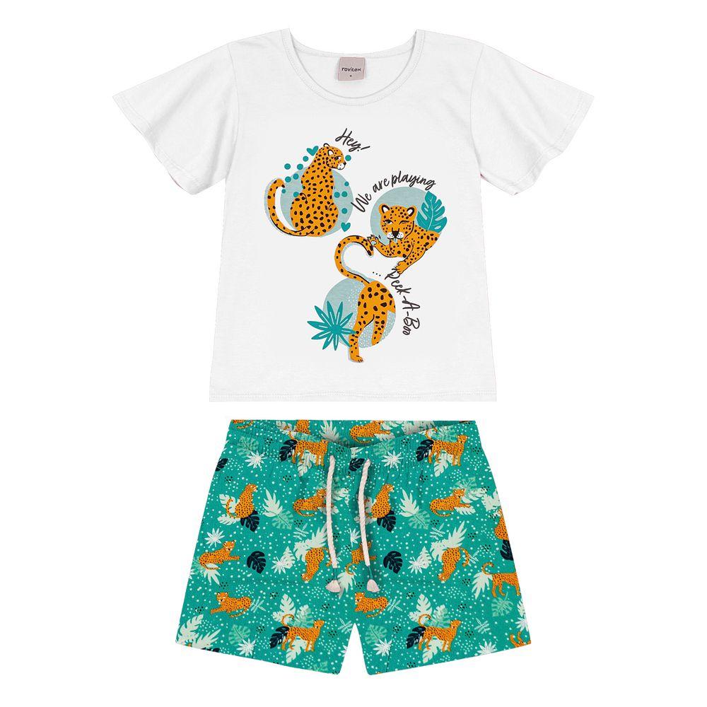 Conjunto-Infantil-Animal-Print-Rovitex-Kids-Branco
