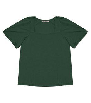 Blusa-Feminina-Plus-Size-Decote-Quadrado-Secret-Verde