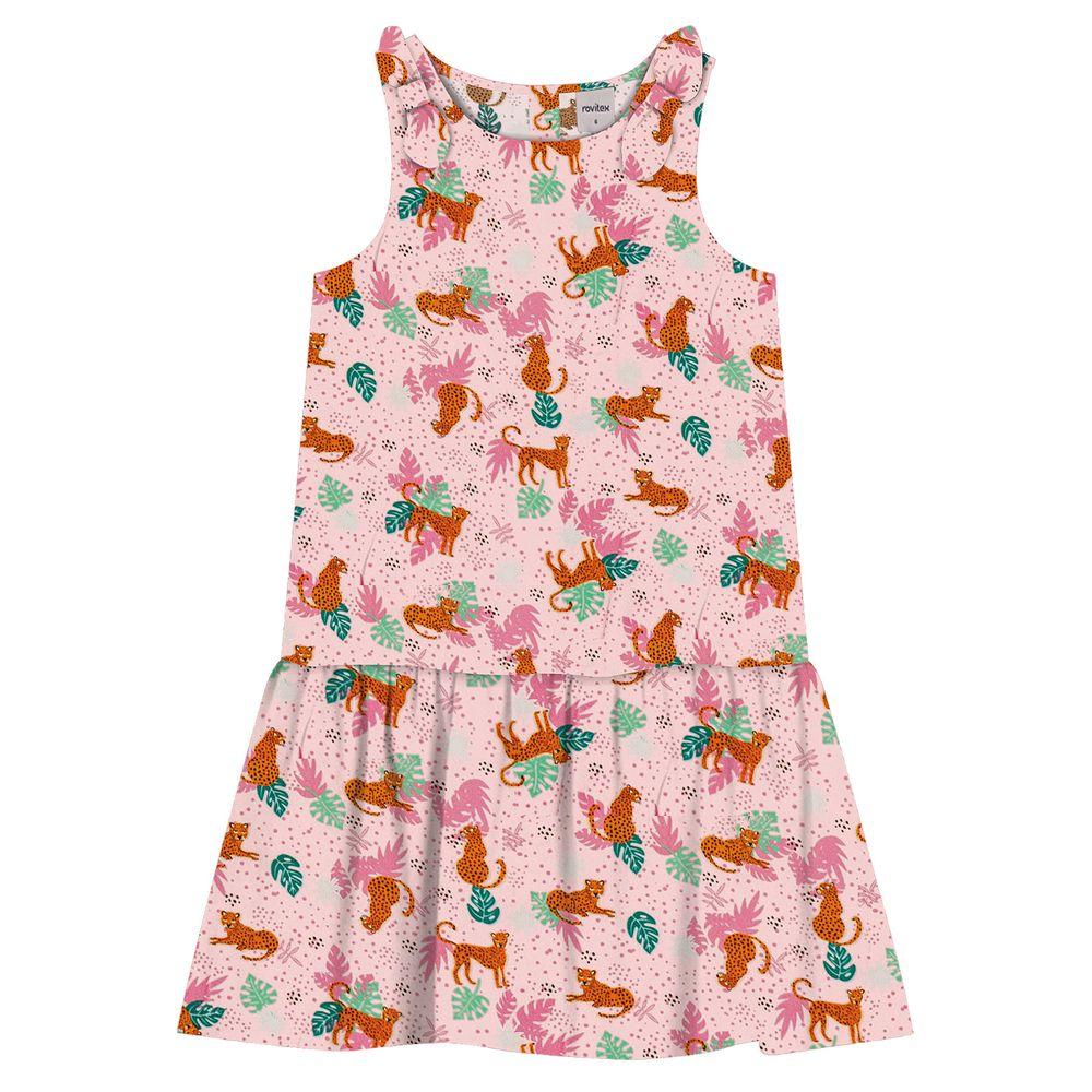 Vestido-Infantil-Animal-Rovitex-Kids-Rosa