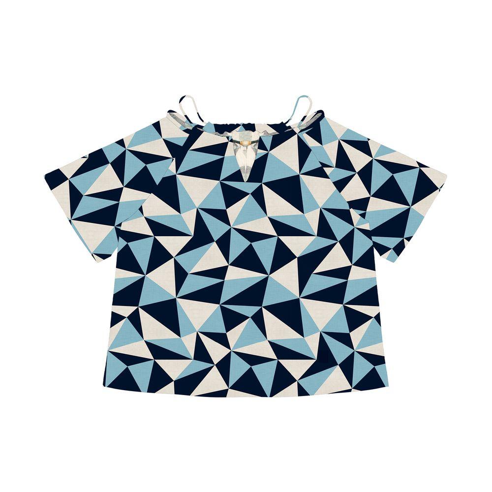 Blusa-Feminina-Plus-Size-Geometrica-Secret-Glam-Azul