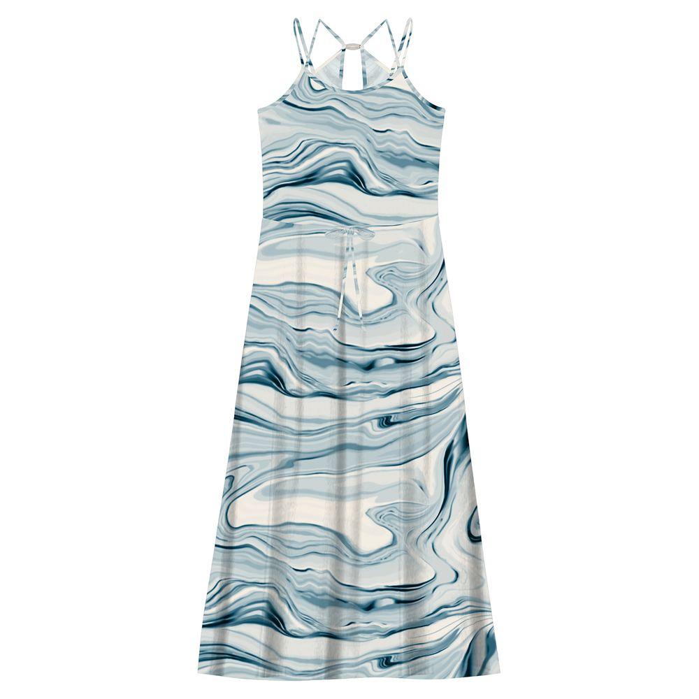Vestido-Feminino-Longo-Estampado-Edless-Azul