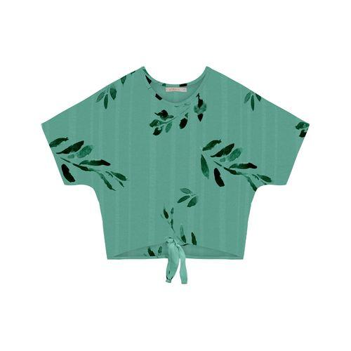 Blusa-Feminina-Estampada--Endless-Verde