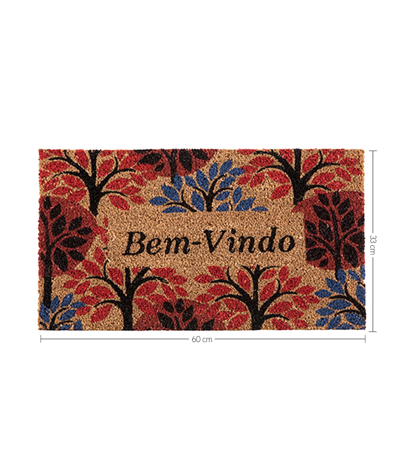 Capacho-Bem-Vindo-Tree-de-Fibra-de-Coco-Cortex-Unica