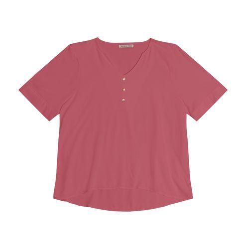 Camisa-Feminina-Plus-Size-Creponada-Secret-Glam-Rosa