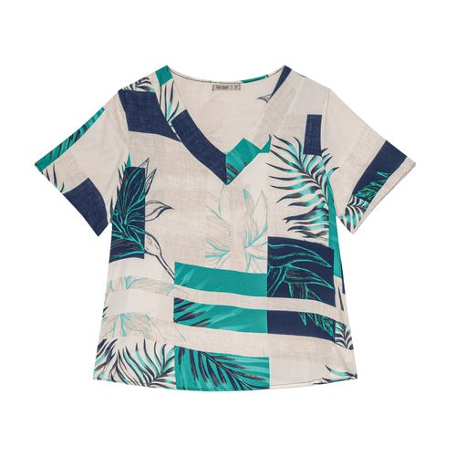 Blusa-Feminina-Plus-Size-Tropical-Secret-Glam-Azul