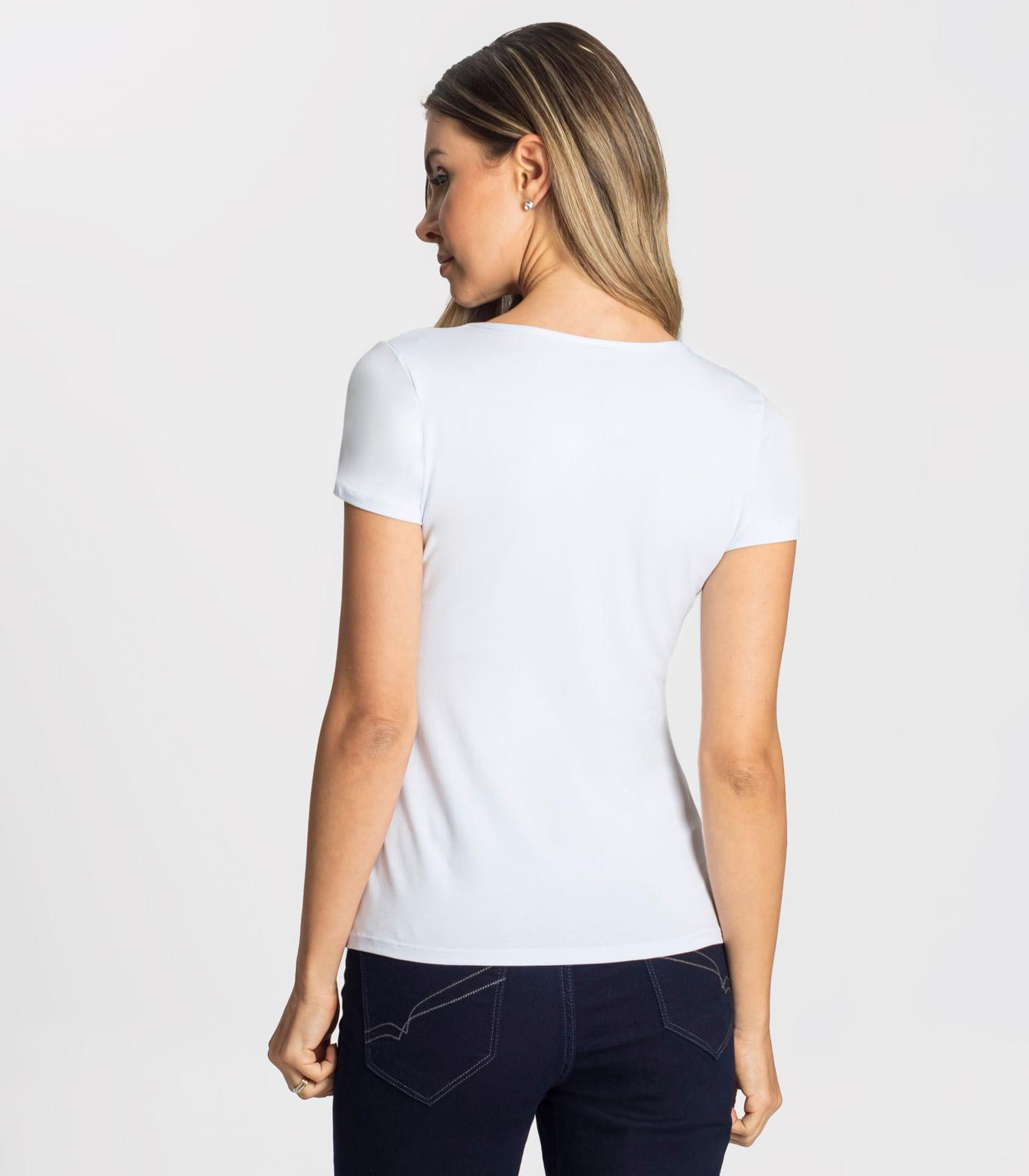 Blusa-Feminina-Basica-com-Aplique-Frontal-Rovitex-Branco
