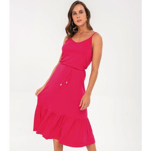 Vestido-Midi-com-Babado-Rovitex-Rosa
