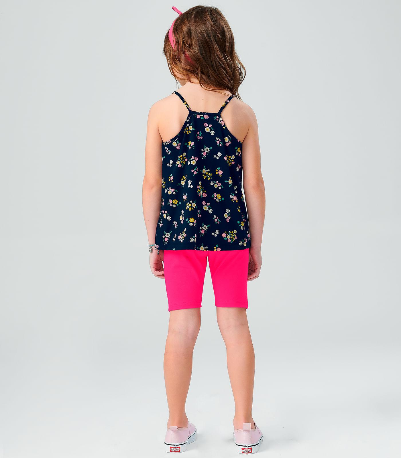 Conjunto-Feminino-Flowers-Rovitex-Kids-Azul