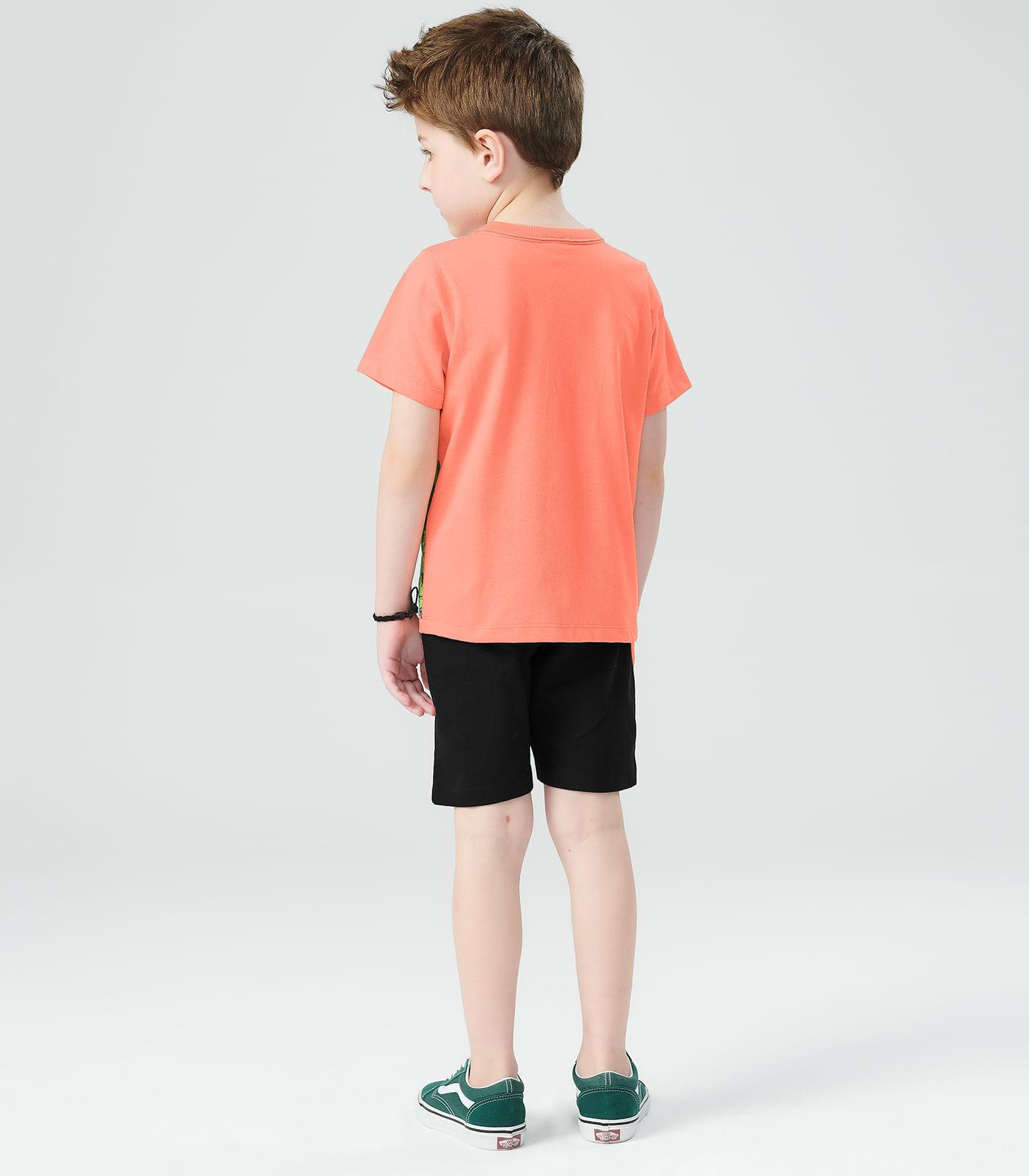 Conjunto-Masculino-Dino-Rovitex-Kids-Laranja