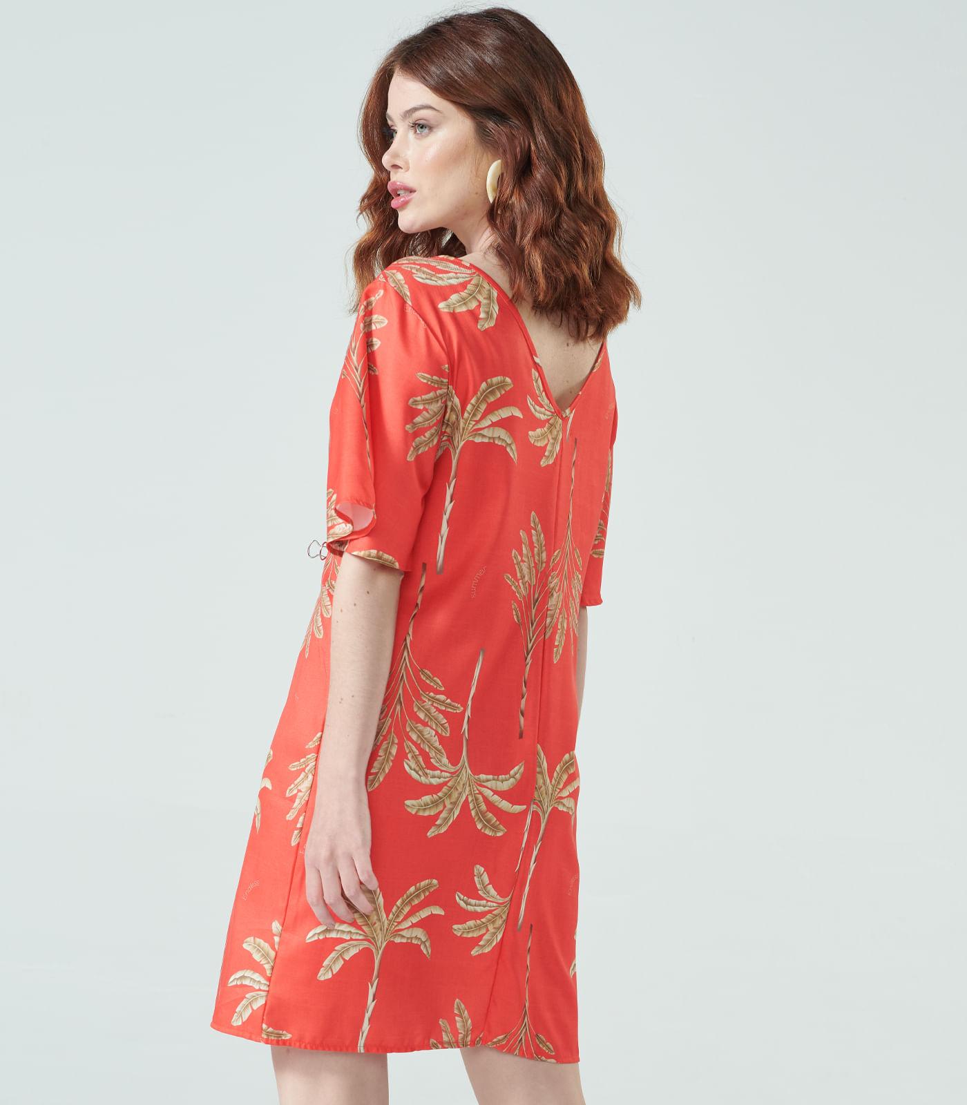 Vestido-Feminino-Coqueiros-Endless-Vermelho