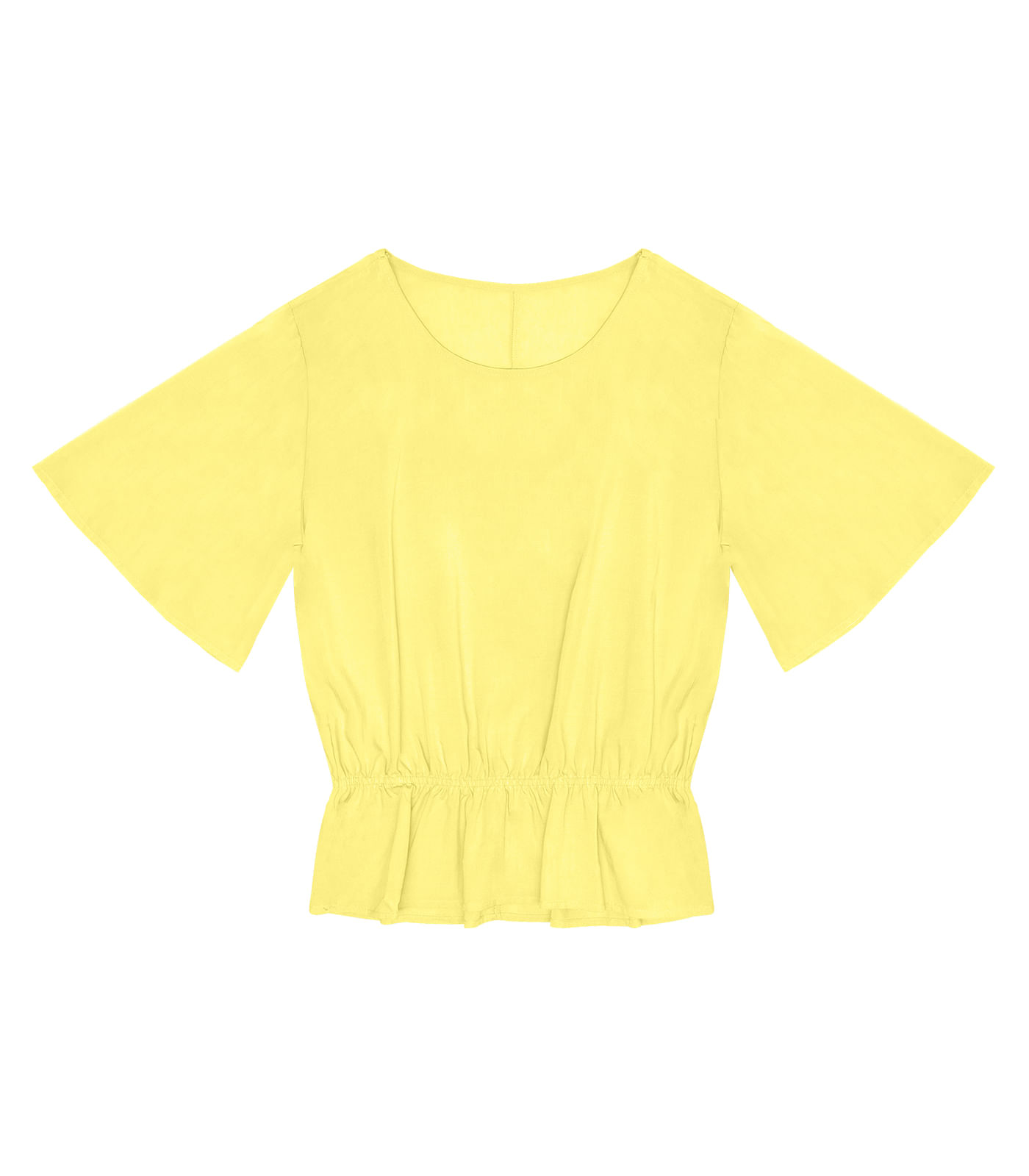 Blusa-Feminina-Babados-Rovitex-Amarelo
