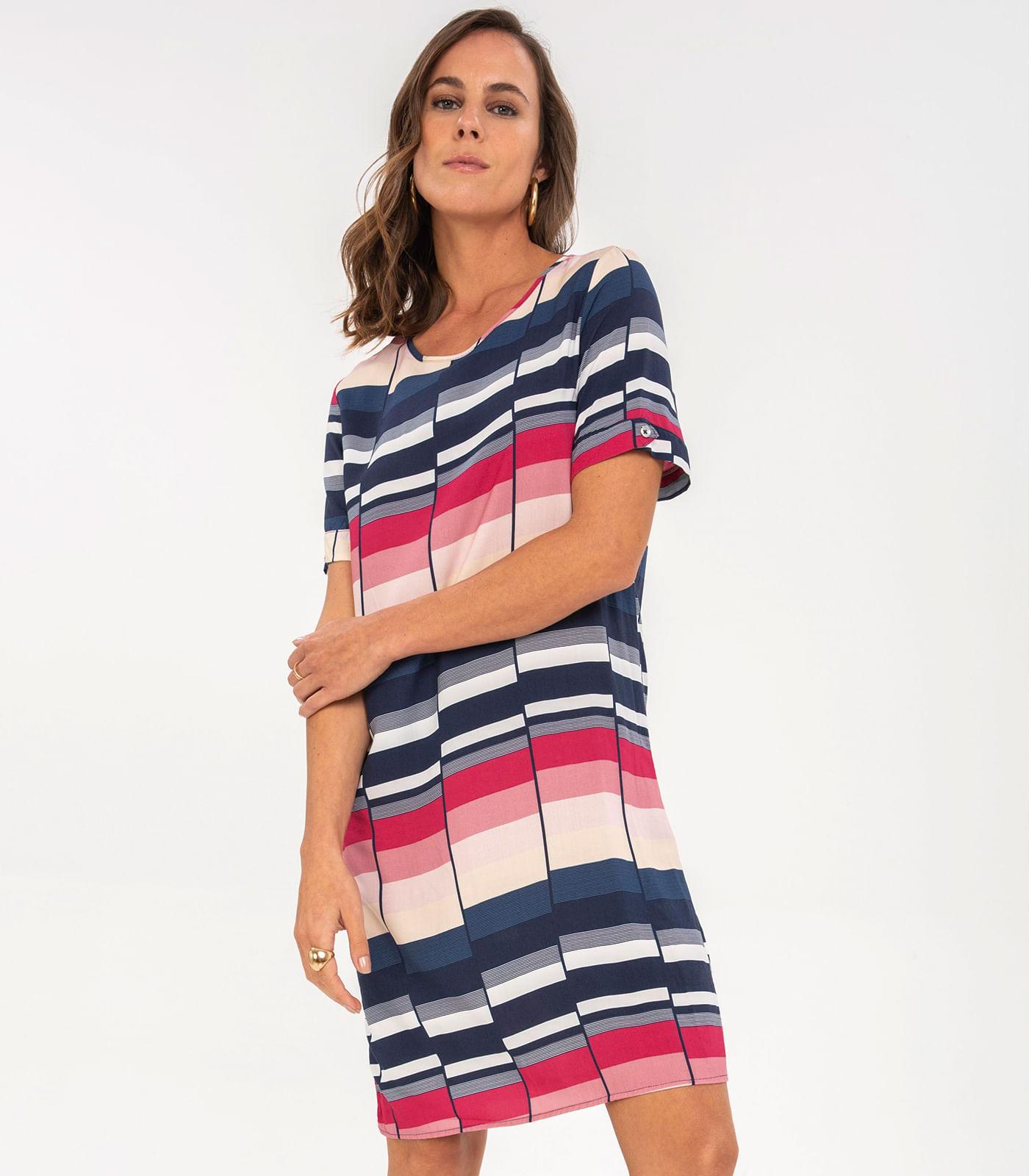 Vestido-Feminino-Geometrico-Rovitex-Vermelho