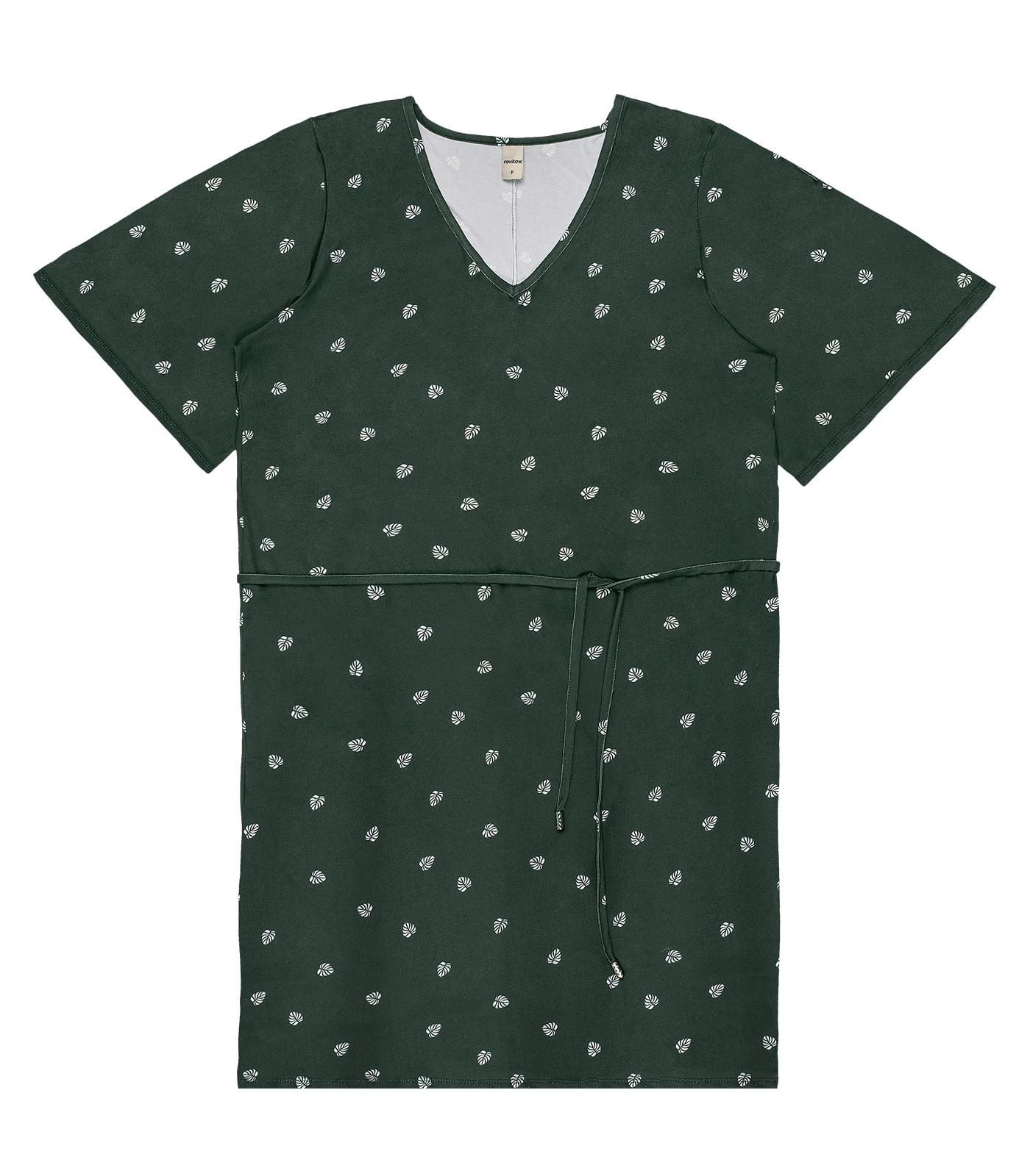 Vestido-Curto-com-Cordao-Rovitex-Verde