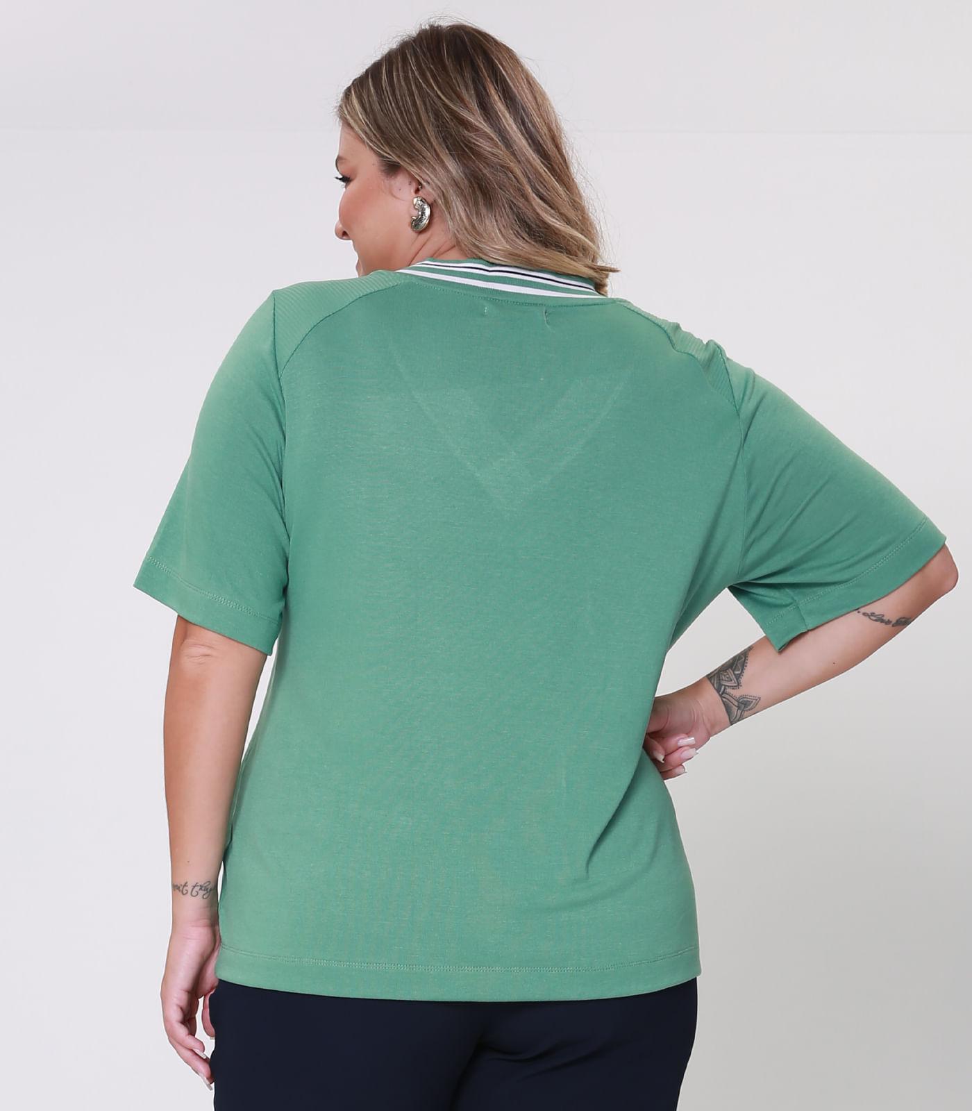 Blusa-Feminina-Plus-Size-Retilinea-Secret-Glam-Verde