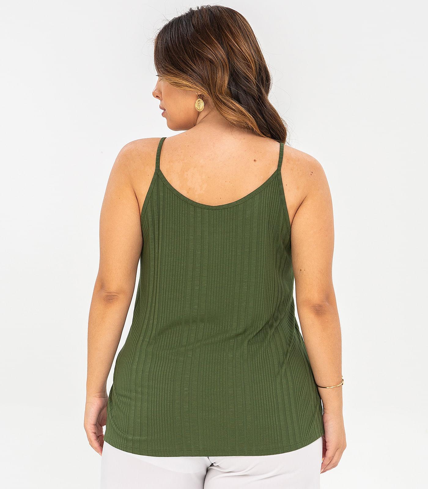 Blusa-de-Alca-Plus-Size-Canelada-Rovitex-Plus-Verde