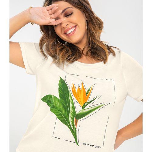 Blusa-Feminina-Plus-Size-Bloom-Rovitex-Plus-Bege