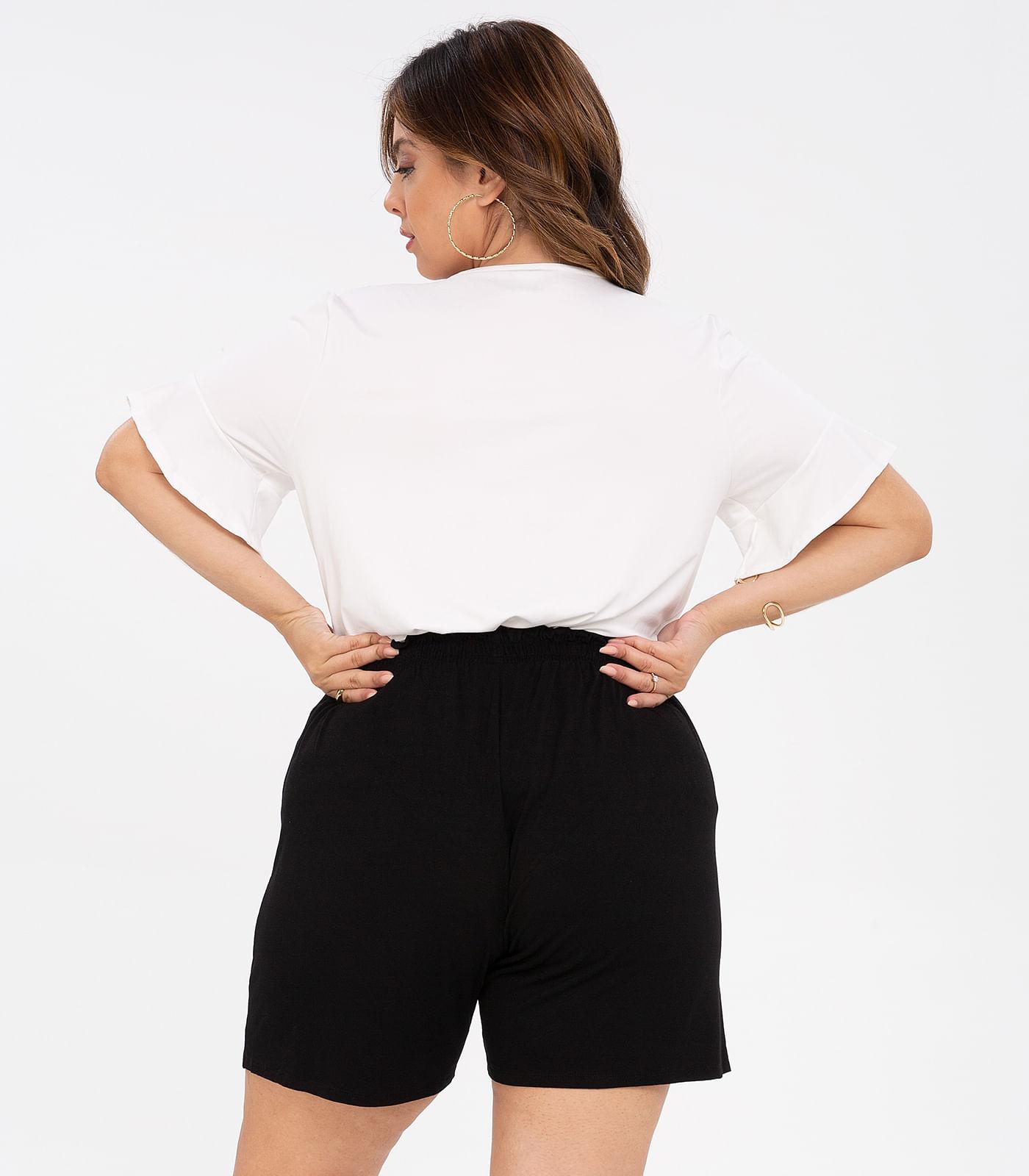 Blusa-Feminina-Plus-Size-Babados-Rovitex-Plus-Bege