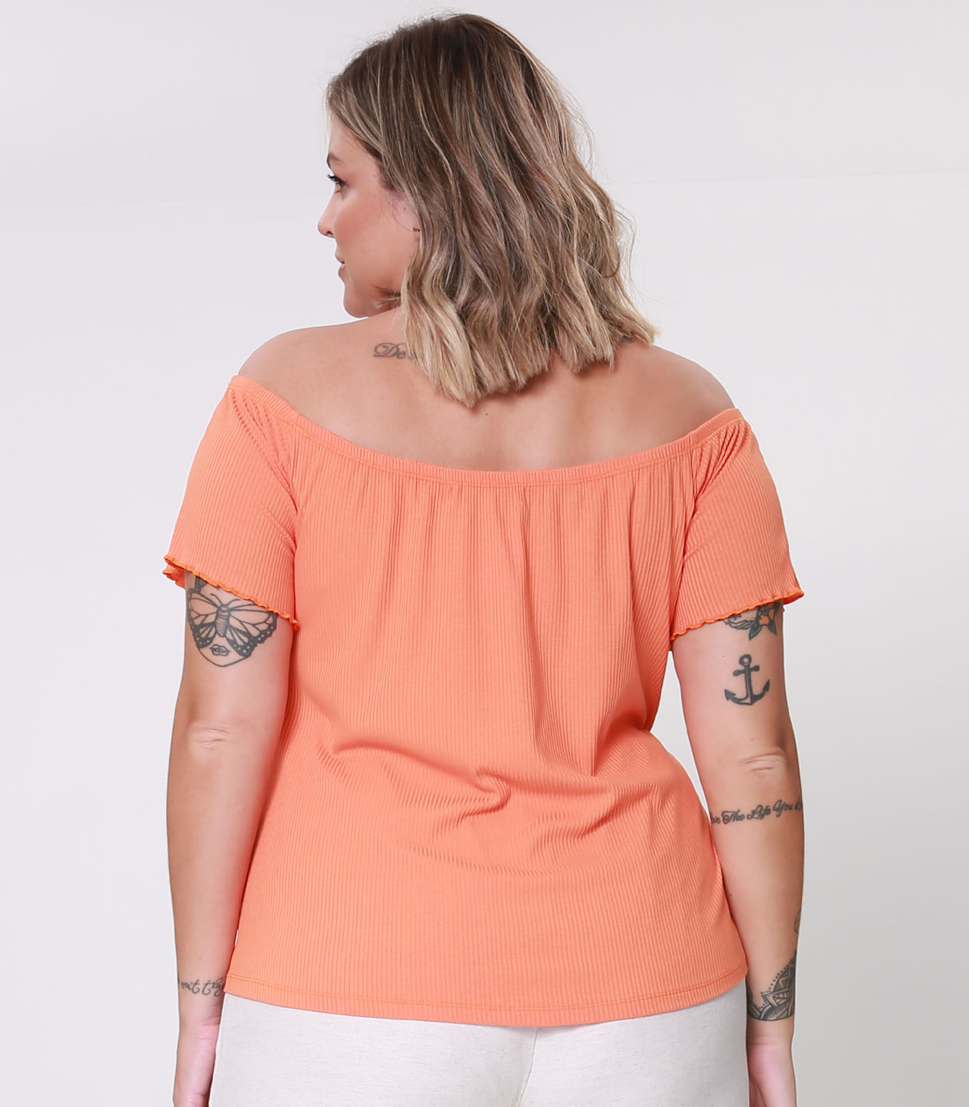 Blusa-Feminina-Plus-Size-Ciganinha-Secret-Glam-Laranja