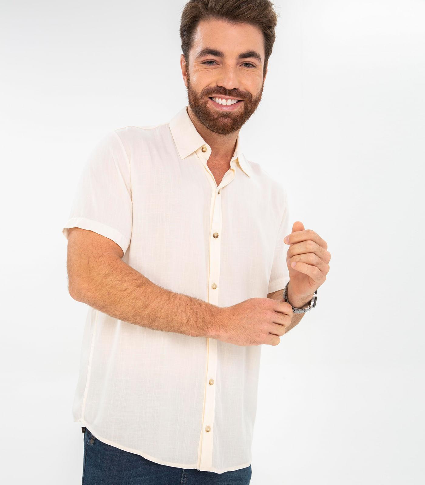 Camisa-Masculina-Comfy-Rovitex-Bege