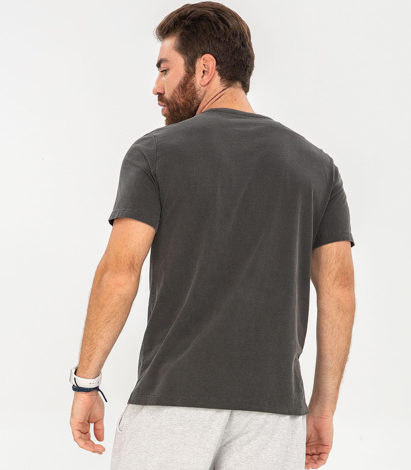 Camiseta-Masculina-Skulls-Rovitex-Preto