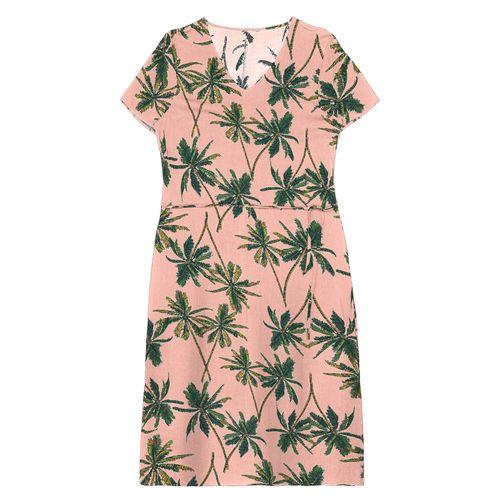 Vestido-Midi-Feminino-Estampado-Rovitex-Rosa