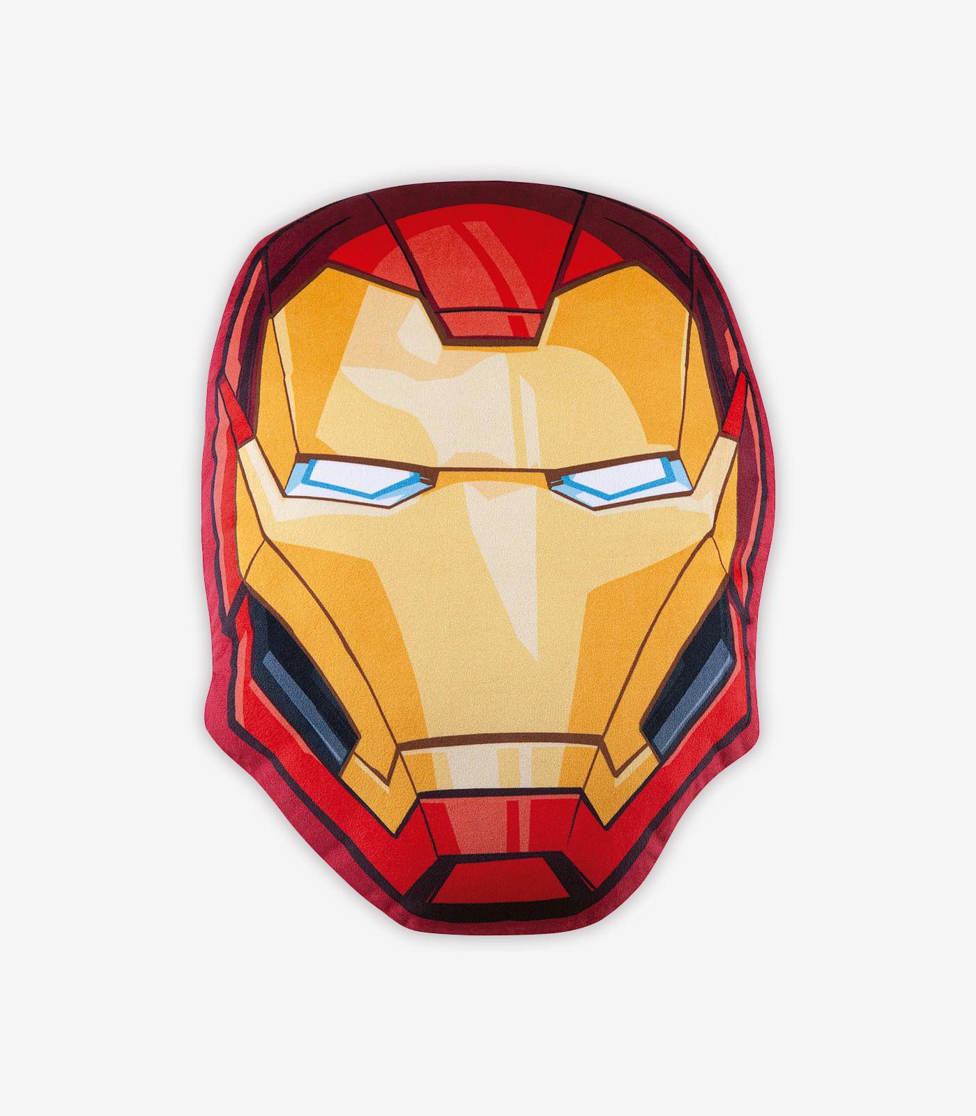 Almofada-Infantil-Avengers-Homem-de-Ferro-Lepper-Vermelho