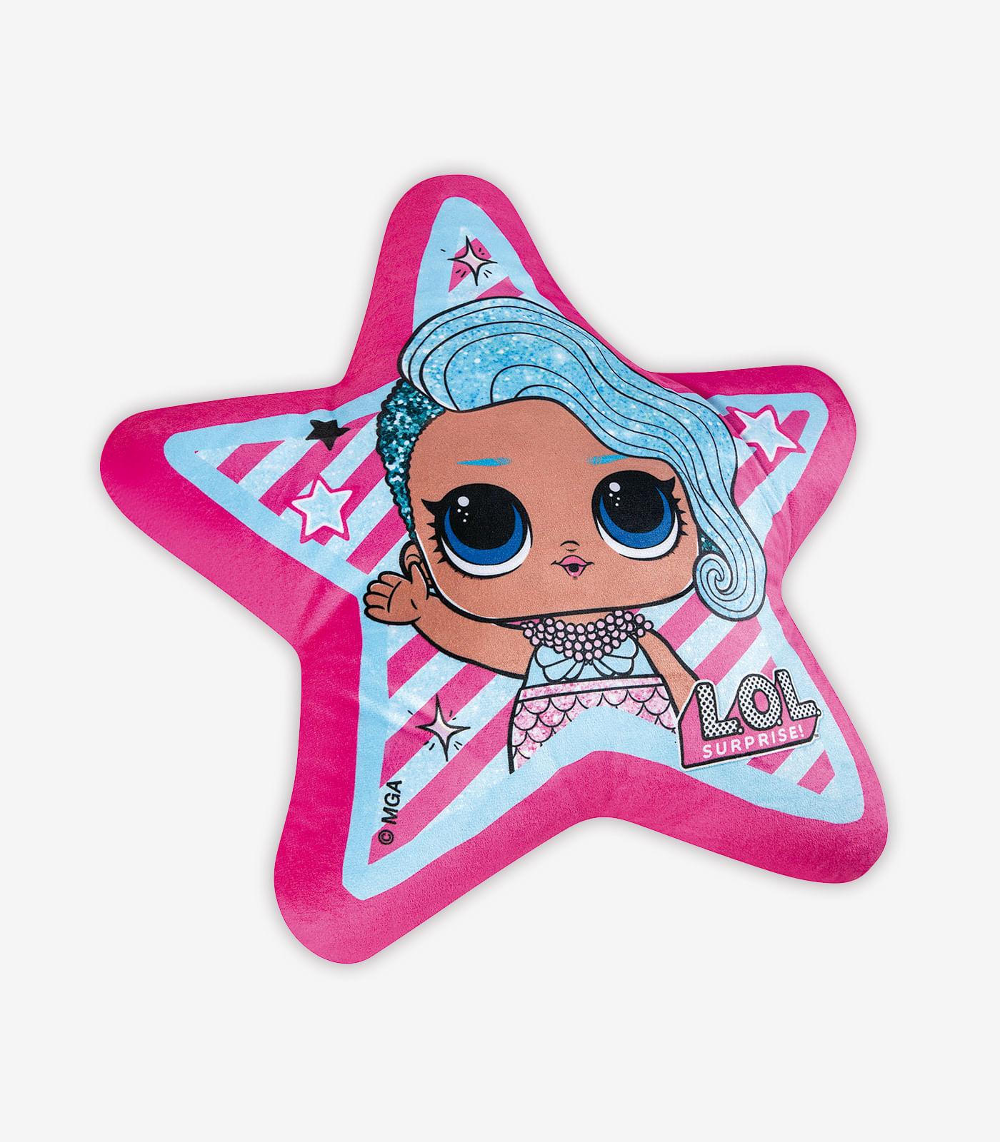 Almofada-Infantil-LOL-Splash-Queen-Lepper-Rosa